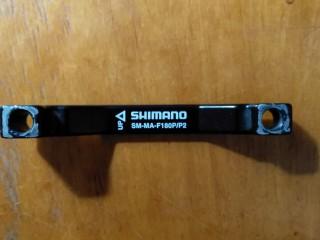 Адаптер тормозной Shimano передний  180мм