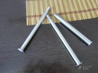 Передние оси для вилок 100/110x15мм 110x20мм (новые)