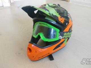 Шлем фуллфейс SixSixOne Comp + маска 100%