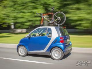 Велокрепление на вакуумных присосках на крышу авто (новое)