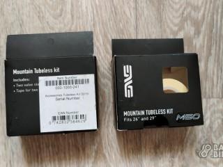 Комплект для установки бескамерной покрышки (ободная лента+2 ниппеля) Enve Mountain Tubeless Kit (новый)