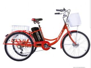 Электровелосипед трехколесный для взрослых Иж-Байк Фермер 2019