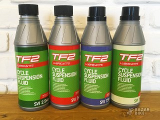 Амортизационное масло Weldtite TF2 2,5 / 5 / 7,5 / 15wt 500мл