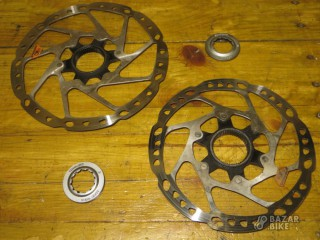 Комплект роторов Shimano Tourney TXS M-RT10 Center Lock 160/180мм