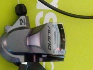 Комплект Манетка Shimano Alivio M4000 + переключатель Shimano Acera T3000 3ск (новые)