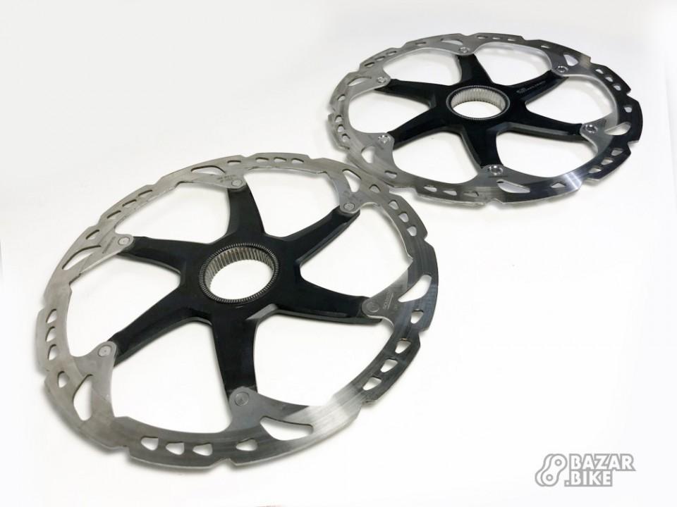 Комплект роторов Shimano Deore XT RT79/81 Ice-Tech 203мм