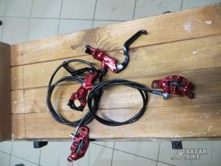 Комплект тормозов Formula R1 + роторы 160мм
