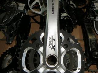 Система шатунов Shimano Deore XT 175мм 3x9ск